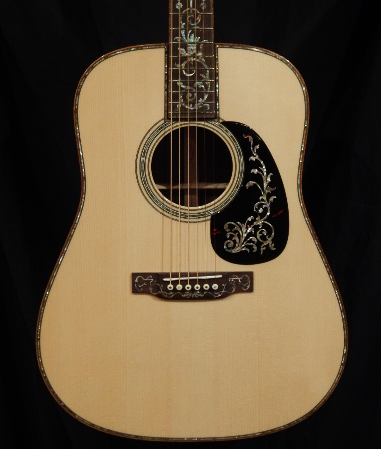 martin d 45 tree of life custom down home guitars. Black Bedroom Furniture Sets. Home Design Ideas