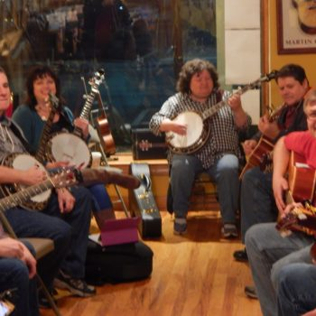 Bluegrass Jam Circles