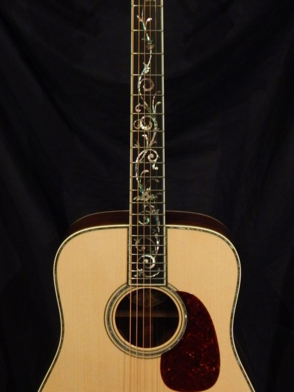 Collings D42 Tree Of Life Madagascar Rosewood And