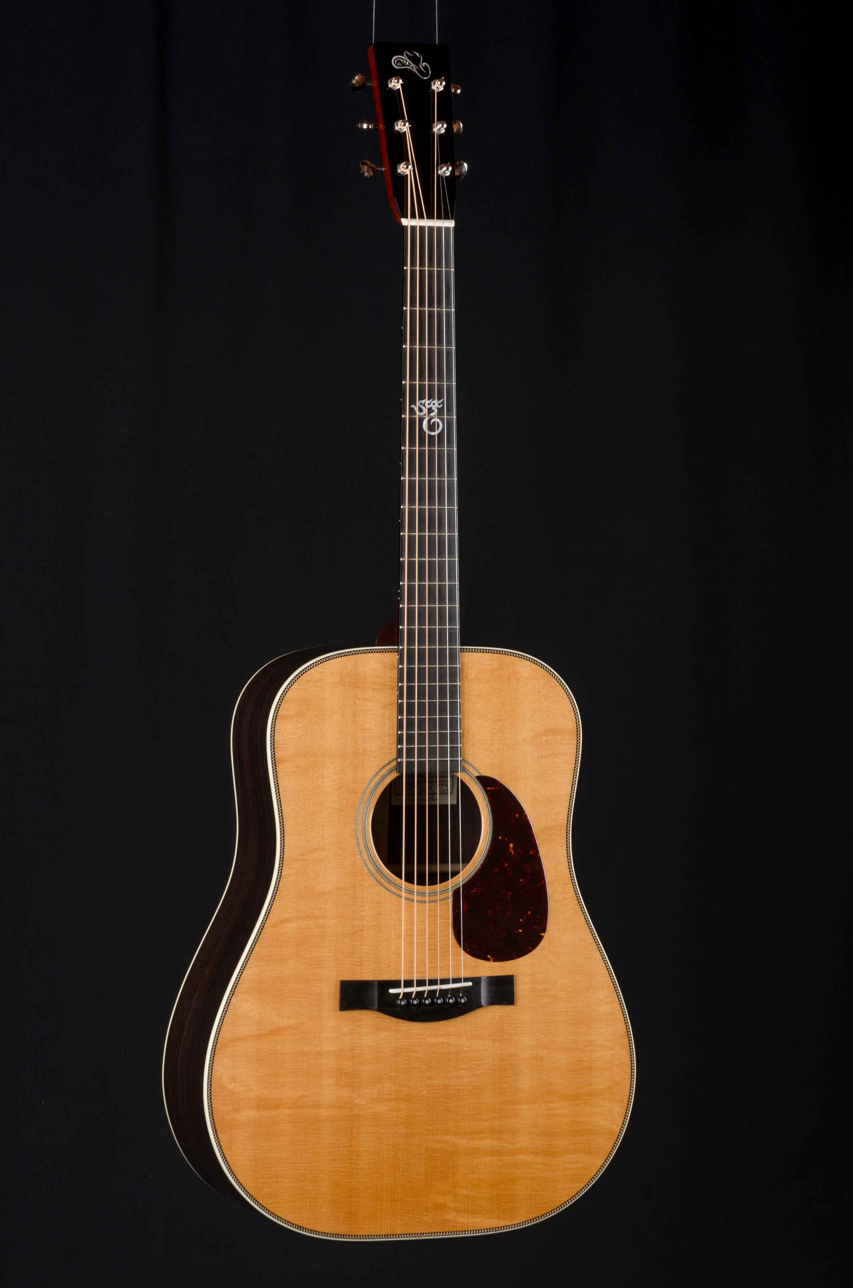 santa cruz b pw brad paisley signature model down home guitars. Black Bedroom Furniture Sets. Home Design Ideas