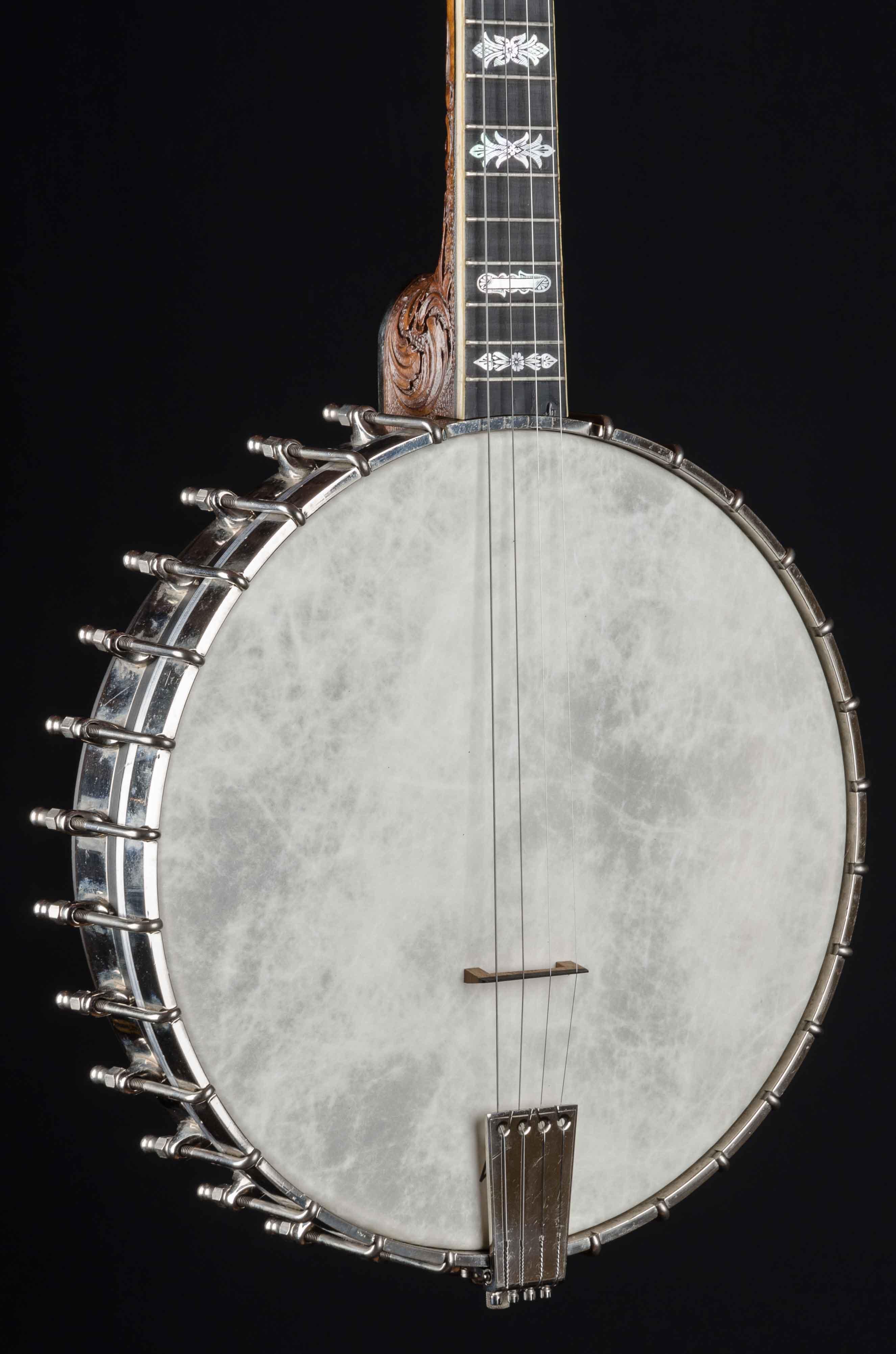 Vega Style X No  9 Tubaphone Tenor Banjo Used (1924) - Down