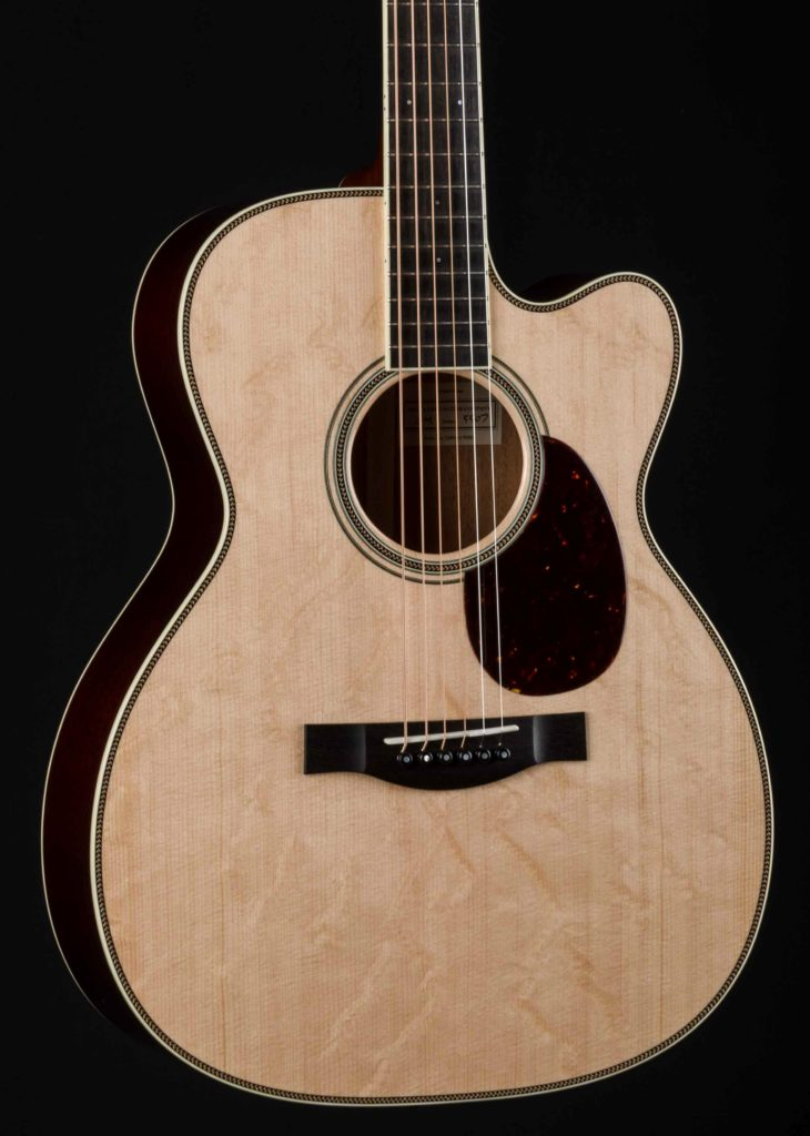 santa cruz om cutaway bearclaw sitka spruce and mahogany down home guitars. Black Bedroom Furniture Sets. Home Design Ideas