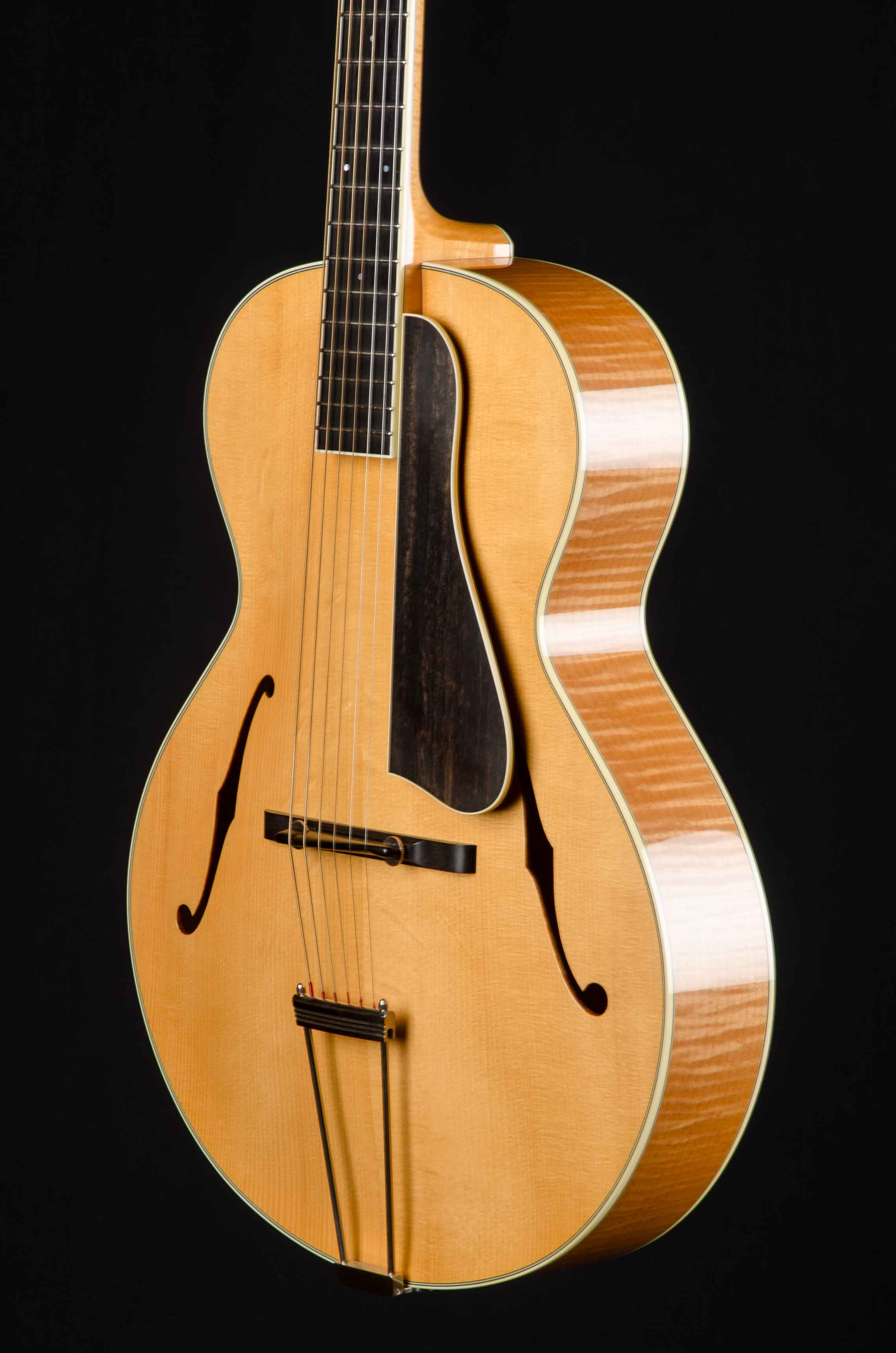 collings at 16 archtop guitar blonde used 2009 down home guitars. Black Bedroom Furniture Sets. Home Design Ideas