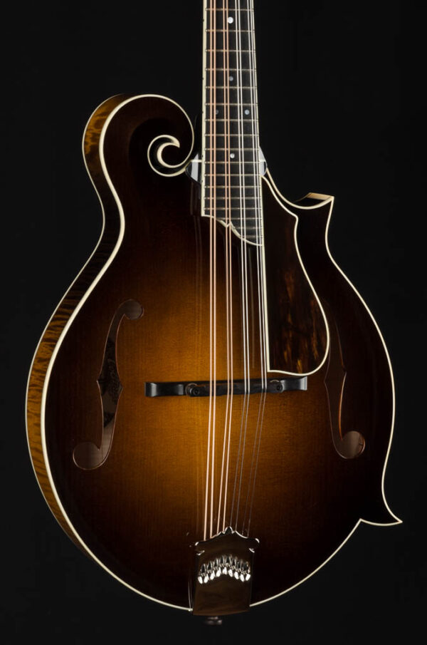 Collings MF5 Custom Mandolin with Flowerpot Inlay, Waverly Tuners and  Pickguard
