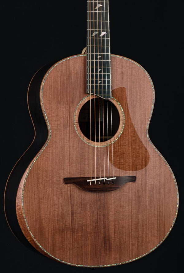 Lowden F-50 Brazilian Rosewood and Sinker Redwood with Arm Bevel, Abalone  Inlays and Maple Neck