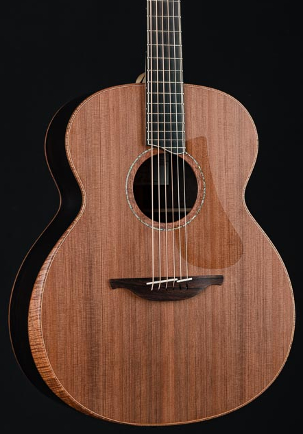 Lowden O-50 African Blackwood and Sinker Redwood with Bevel and Maple Neck
